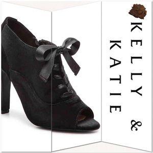 Kelly & Katie Fiorine Velvet Booties